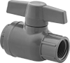 Plastic Threaded On/Off Valves for Drinking Water