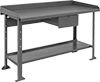Workbenches with Backstop and Side Stops