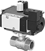 High-Flow Air-Driven On/Off Valves