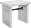Vibration-Damping Marble-Top Tables