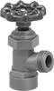 Plastic Threaded Flow-Adjustment Valves with Garden Hose Outlet