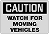 Vehicle and Shipping Dock Signs