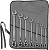 Premium Reversible Ratcheting Combination Wrench Sets