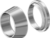 Front and Back Sleeves for Yor-Lok Fittings for Stainless Steel Tubing