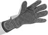 Firefighter-Style Leather Heat-Protection Gloves