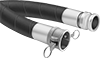 Low-Pressure Petroleum Hose with Cam-and-Groove Socket and Plug