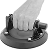 Hand-Held Suction-Cup Lifters and Pullers