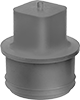 High-Temperature Round Plugs for NPT Pipe