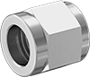 Precision AN 37° Flared Fittings for Stainless Steel Tubing
