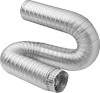 Bend-and-Stay Metal Duct Hose for Air