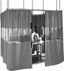 Build-Your-Own Suspended Welding Curtain Partitions