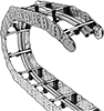 Heavy Duty Open Cable and Hose Carriers