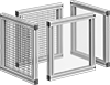 Machine-Mount T-Slotted Framing Machine Guards