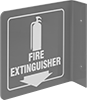 Flange-Mount Fire Equipment Signs