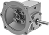 Right-Angle Speed Reducers for Face-Mount AC Motors
