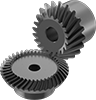 High-Power Metal Bevel Gears