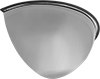 Shatter-Resistant Half-Dome Safety Mirrors for Drop Ceilings