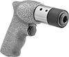 Quick-Change Air-Powered Chiseling Hammers