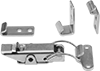 Multiple-Strike Draw Latches with Safety Catch