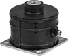 Adjustable Extreme-Force Bolt-Down Vibration-Damping Mounts with Threaded Hole