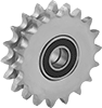 Idler Sprockets for Double-Strand ANSI Roller Chain