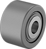 Thrust-Load-Rated Shaft-Mount Track Rollers