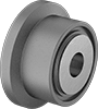 Flanged Shaft-Mount Track Rollers