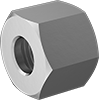 Nuts for High-Pressure Compression Fittings for Stainless Steel Tubing