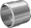 Sleeves for High-Pressure Compression Fittings for Stainless Steel Tubing