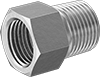 Supported 45° Flared Fittings for Copper and Brass Tubing