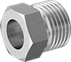 Nuts for Supported 45° Flared Fittings for Copper and Brass Tubing