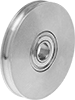 Round-Belt Idler Pulleys