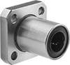 Corrosion-Resistant Flange-Mounted Linear Ball Bearings