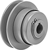 Constant-Tension V-Belt Pulleys