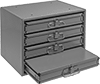 Stackable Small-Parts Cabinets with Compartmented Boxes