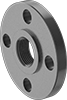 FM-Approved Low-Pressure Cast Iron Threaded Pipe Flanges