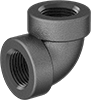 FM-Approved Low-Pressure Cast Iron Threaded Pipe Fittings