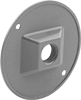 Round Covers for Weatherproof Outlet Boxes