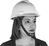 Hard-Hat Chin Straps
