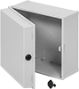 Polycarbonate Tamper- and Corrosion-Resistant Washdown Enclosures