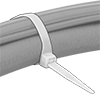 No-Gap Flexible-Body Cable Ties