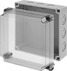 Polycarbonate Corrosion-Resistant Washdown Enclosures with See-Through Cover