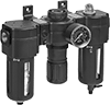 Norgren Modular Compressed Air Filter/Regulator/Lubricators (FRLs)