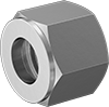 Nuts for Acid-Resistant Yor-Lok Fittings for Nickel Alloy Tubing