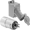 Hazardous Location Straight-Blade Plugs and Receptacles