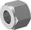 Nuts for Precision Compression Fittings for Copper Tubing