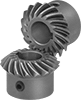 High-Power Metal Miter Gears