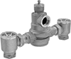 High-Flow Threaded Temperature-Regulating Valves for Water