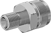 Threaded Hose-to-Propane-Torch Adapters for Compressed Gas