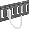 Hooks for Snap-In Load-Securing Track